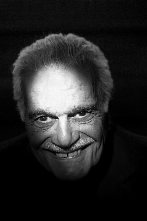 Omar Sharif at the hotel where he lives in Paris. Fifty years after the making of David Lean's epic film Lawrence of Arabia in which the 80 year old actor starred, the 1962 film has been painstakingly restored and will be released on Blu-Ray DVD in November 2012.<br />