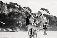 teo & irene with henry family photos on the beautiful coromandel peninsula at otama beach coromandel photographer felicity jean photography summer family beach portraits