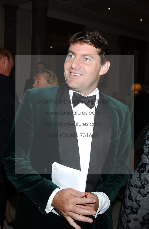 CHARLIE BROOKS at the annual Ascot charity auction dinner this year in aid of The Princes Trust held at the Hyatt Churchill Hotel, Portman Square, London on 21st September 2004.<br /><br />NON EXCLUSIVE - WORLD RIGHTS