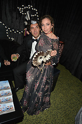 AYESHA SHAND and SEBASTIAN LEE at The Animal Ball presented by Elephant Family held at Victoria House, Bloomsbury Square, London on 22nd November 2016.