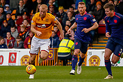 Curtis Main of Motherwell during the Ladbrokes Scottish Premiership match between Motherwell and Heart of Midlothian at Fir Park, Motherwell, Scotland on 17 February 2019.
