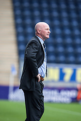 Dundee's  manager John Brown.<br /> Falkirk 3 v 1 Dundee, 21/9/2013.<br /> &copy;Michael Schofield.