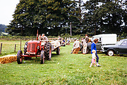 People at agricultural show thought to be in Camddwr valley, mid Wales in 1964
