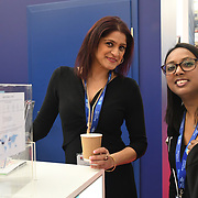 Hundreds of stalls exhibition at Business Travel Show 2020 and travel technology europe on 26th February 2020, Olympia London, UK.
