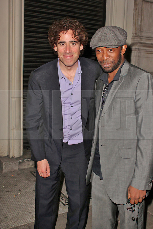 © London News Pictures. 25/06/2013. London, UK.   Stephen Mangan at the Charlie and the Chocolate Factory - Opening Night After Party . Photo credit: Brett D. Cove/LNP