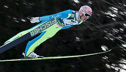 12.01.2014, Kulm, Bad Mitterndorf, AUT, FIS Ski Flug Weltcup, Erster Durchgang, im Bild Severin Freund (GER) // Severin Freund (GER) during the first round of FIS Ski Flying World Cup at the Kulm, Bad Mitterndorf, .Austria on 2014/01/12, EXPA Pictures © 2013, PhotoCredit: EXPA/ Erwin Scheriau