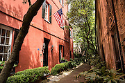 Philadelphia Alley in historic Charleston, SC.