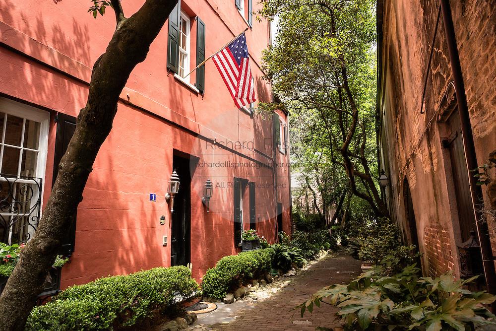 Philadelphia Alley in historic Charleston, SC.