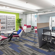 Ferguson Paper Baldwin Architects have created a bright, user-friendly research lab for FPBA Navigate BioPharma, Novartis, in Carlsbad, California, San Diego Architectural Photographer, Southern California Architectural Photographer