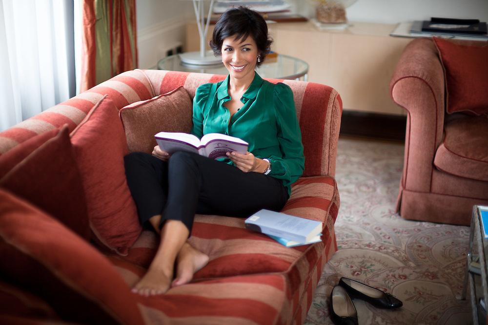 25 JUN 2010 - Roma - Mara Carfagna, Ministro per le Pari Opportunità, nel proprio ufficio privato al Ministero in largo Chigi :-: Rome (Italy) - Mara Carfagna, italian Minister for Equal Opportunities, in her private office.