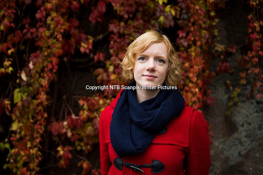OSLO  20121017.<br /> Erika Fatland har skrevet boka &quot; &asymp;ret uten sommer &quot; som kommer ut p&Acirc; Kagge forlag. <br /> Foto: Berit Roald / NTB scanpix<br /> <br /> NTB Scanpix/Writer Pictures<br /> <br /> WORLD RIGHTS, DIRECT SALES ONLY, NO AGENCY