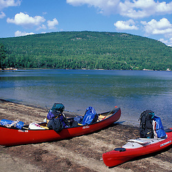 Attean Pond, ME. Canoe camping. Northern Forest. Moose River bow loop. Sally Mtn.