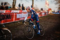 FIELD Ian (GBR) during the Men Elite race, UCI Cyclo-cross World Cup #8 at Hoogerheide, Noord-Brabant, The Netherlands, 22 January 2017. Photo by Pim Nijland / PelotonPhotos.com | All photos usage must carry mandatory copyright credit (Peloton Photos | Pim Nijland)