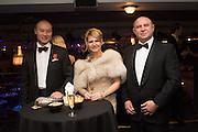 LINJIE; NATALYIA TUTUS; NIKOLA TUTUS, Russian Debutante Ball, Grosvenor House. London. 15 November 2015