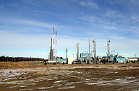Atco Golden Spike gas processing plant, Alberta, Canada