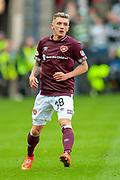Callumn Morrison (#38) of Heart of Midlothian during the Betfred League Cup semi-final match between Heart of Midlothian FC and Celtic FC at the BT Murrayfield Stadium, Edinburgh, Scotland on 28 October 2018.