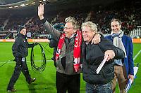 ALKMAAR - 21-11-2015, AZ -  sc Heerenveen , AFAS Stadion, 3-1, Kees Kist (m), Kristen Nygaard, Marco Wijnstekers.