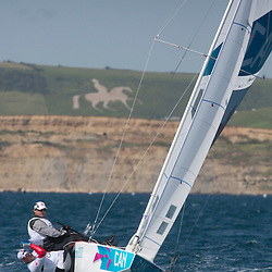 StarCANClarke Richard, Bjorn Tyler<br /> White Horse<br /> 2012 Olympic Games <br /> London / Weymouth