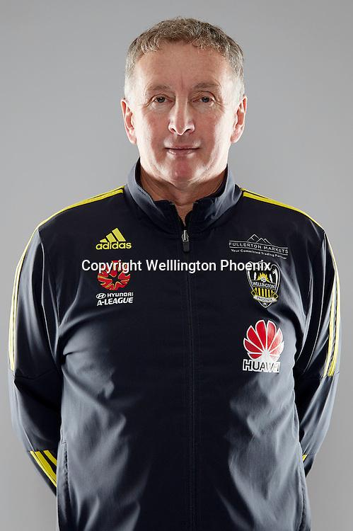 Ernie Merrick (Head Coach).<br /> Headshots of the Wellington Phoenix Football team for the Hyundai A-League 2016-17 season.