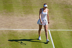LONDON, ENGLAND - Tuesday, July 1, 2008: Nicole Vaidisova (CZE) walks off dejected after losing during the Ladies' Singles Quarter-Final on day eight of the Wimbledon Lawn Tennis Championships at the All England Lawn Tennis and Croquet Club. (Photo by David Rawcliffe/Propaganda)