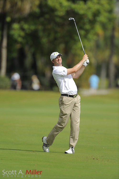 Martin Laird during the second round of the World Golf Championship Cadillac Championship on the TPC Blue Monster Course at Doral Golf Resort And Spa on March 9, 2012 in Doral, Fla. ..©2012 Scott A. Miller.