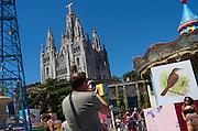 Sagrat Cor church, Barcelona, Spain