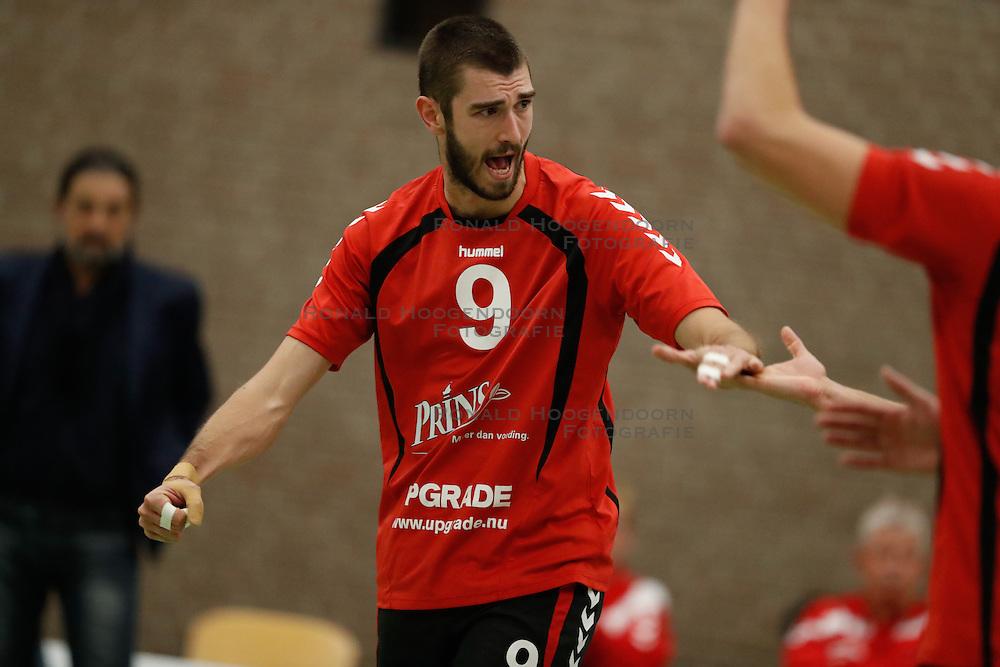 20161029 NED: Eredivisie, Vallei Volleybal Prins - Advisie SSS: Ede<br />Mario Wijsman of Vallei Volleybal Prins<br />©2016-FotoHoogendoorn.nl / Pim Waslander