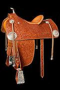 Cary Schwarz custom saddle