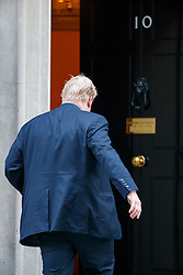 © Licensed to London News Pictures. 17/01/2017. London, UK. Foreign secretary BORIS JOHNSON attends a cabinet meeting in Downing Street on Tuesday, 17 January 2017 before Prime Minister Theresa May's Brexit plan speech. Photo credit: Tolga Akmen/LNP