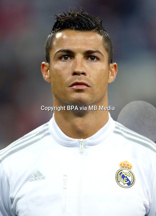Spain - Liga BBVA 2015-2016 / <br /> ( Real Madrid CF ) - <br /> Cristiano Ronaldo dos Santos Aveiro &quot; Cristiano Ronaldo &quot;