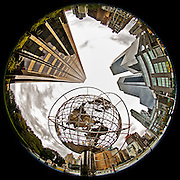 New York City - Columbus Circle at Broadway & Central Park West