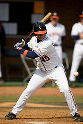 Virginia Cavaliers C Will Campbell (45).  The #17 ranked Virginia Cavaliers baseball team defeated the Lehigh Mountain Hawks 12-1 at the University of Virginia's Davenport Field in Charlottesville, VA on February 24, 2008.
