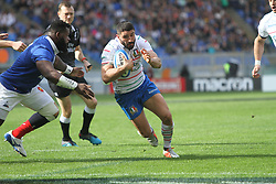 March 16, 2019 - Rome, Italy, Italy - At Stadio Olimpico of Rome, France beat Italy 25-14 for the last match of Guinness Six Nations 2019 (Credit Image: © Paolo Pizzi/Pacific Press via ZUMA Wire)