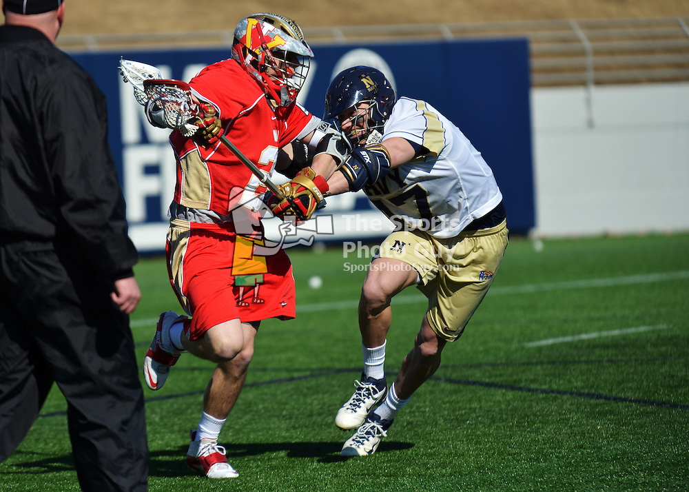NCAA Men's Lacrosse: Navy Midshipmen handle Keydets in lacrosse opener, 20-7