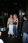 "Natasha Corrett and Kelly Hoppen. after-show party following the opening night of  at Wyndham's Theatre of ""As You Like It"", at Mint Leaf, Suffolk Place, London.  on June 21, 2005. ONE TIME USE ONLY - DO NOT ARCHIVE  © Copyright Photograph by Dafydd Jones 66 Stockwell Park Rd. London SW9 0DA Tel 020 7733 0108 www.dafjones.com"