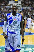 DESCRIZIONE : Sassari Lega A 2012-13 Dinamo Sassari Virtus Bologna<br /> GIOCATORE : Tony Easley<br /> CATEGORIA : Esultanza<br /> SQUADRA : Dinamo Sassari<br /> EVENTO : Campionato Lega A 2012-2013 <br /> GARA : Dinamo Sassari Virtus Bologna<br /> DATA : 30/12/2012<br /> SPORT : Pallacanestro <br /> AUTORE : Agenzia Ciamillo-Castoria/M.Turrini<br /> Galleria : Lega Basket A 2012-2013  <br /> Fotonotizia : Sassari Lega A 2012-13 Dinamo Sassari Virtus Bologna<br /> Predefinita :