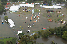 Christchurch-Aerial photos of storm flooding