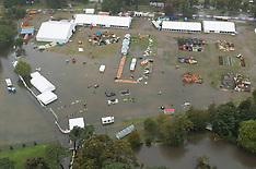 Christchurch-Aerial photos of storm flooding