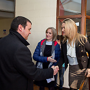 06.02.2018.         <br /> The Minister for European Affairs Helen McEntee TD will visit UL to outline the EU career opportunities open to UL graduates. <br /> <br /> Pictured during the visit were, Gavin Connell, UL, Patrice Twomey, Director of CECD and The Minister for European Affairs Helen McEntee TD.<br /> <br /> The address is part of a special seminar arranged by EU Jobs Ireland, which will also include presentations by experts from the European Parliament and the Department of the Taoiseach. It&rsquo;s your chance to learn about the range of careers on offer in the EU, how the recruitment process works. The seminar is free and open to all UL students, graduates and staff. Picture: Alan Place