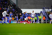 Marcus Harness of Portsmouth inn action during the EFL Sky Bet League 1 match between Portsmouth and Shrewsbury Town at Fratton Park, Portsmouth, England on 15 February 2020.