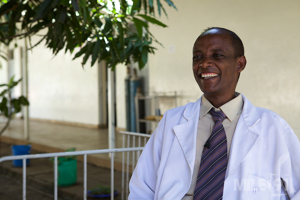 Doctor Solomon Tesfaye, Head of NICU, Arba Minch General Hospital.