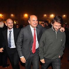 20121104 PIERLUIGI BERSANI IN SALA ESTENSE IL 4 NOVEMBRE 2012