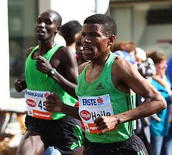 17-04-2011 ATLETIEK: VIENNA CITY MARATHON: WENEN<br /> Haile Gebrselassie (ETH)<br /> ©2011-rhp/EXPA/ G. Holoubek<br /> *** NETHERLANDS ONLY ***