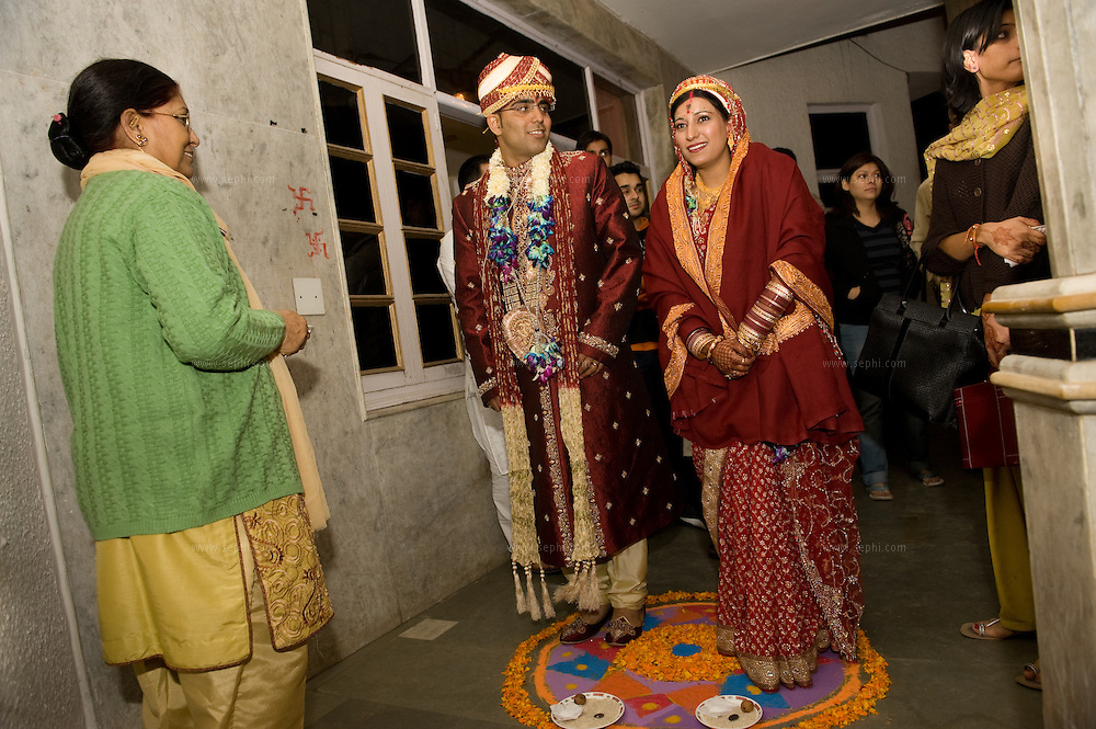 A Kashmiri Pandit wedding in India. November 2008