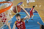 DESCRIZIONE : Rieti Lega A1 2007-08 Solsonica Rieti Lottomatica Virtus Roma <br /> GIOCATORE : Gregor Fucka <br /> SQUADRA : Lottomatica Virtus Roma <br /> EVENTO : Campionato Lega A1 2007-2008 <br /> GARA : Solsonica Rieti Lottomatica Virtus Roma <br /> DATA : 24/02/2008 <br /> CATEGORIA : Rimbalzo Special <br /> SPORT : Pallacanestro <br /> AUTORE : Agenzia Ciamillo-Castoria/G.Ciamillo