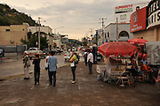 People tend to business in Nogales, Sonora, Mexico, located across the border at Nogales, Arizona, USA.