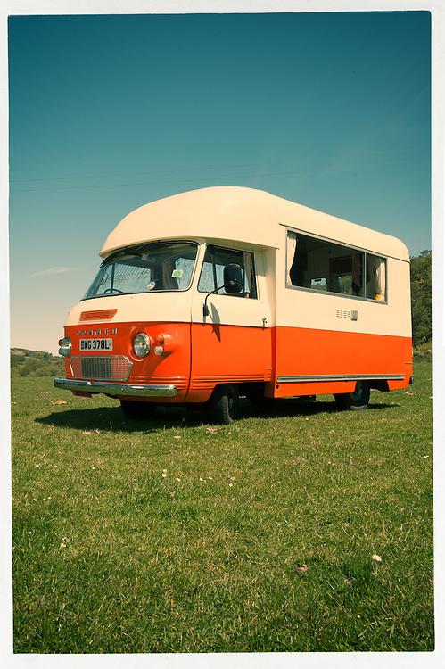 1972 Commer campervan, Jura