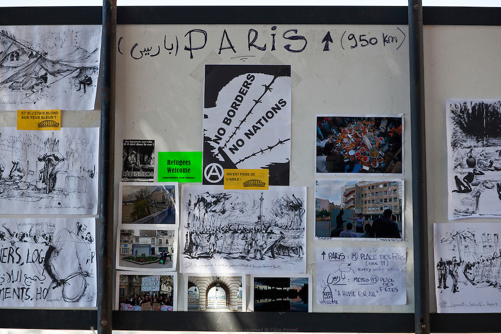 À Vintimille, entre France et Italie, les militants du réseau No Border portent assistance à des réfugiés qui se retrouvent là devant une énième frontière à franchir.