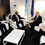 20150603- Brussels - Belgium - 03 June2015 - European Development Days - EDD  - Neven Mimica Devco and Sam Kutesa © EU/UE
