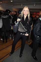 HANNAH SANDLING at a party to celebrate the launch of the new Fiat 500 car held at the London Eye, Westminster Bridge Road, London on 21st January 2008.<br />